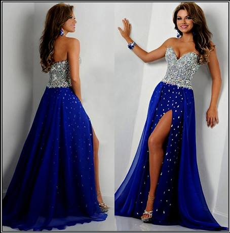 Promdress 2019 royal blue mermaid prom dress 2018-2019 ZPBJQHQ