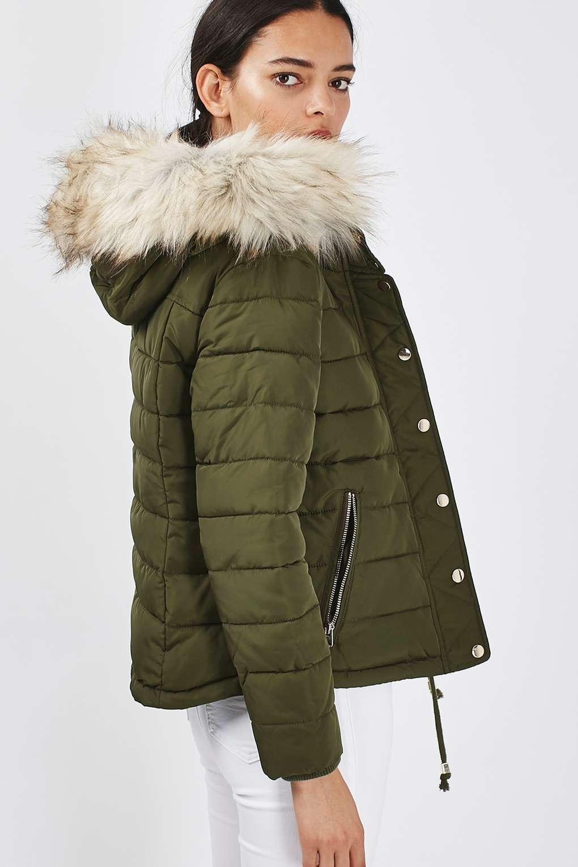Puffer Coat petite puffer jacket | topshop ODOWTAL