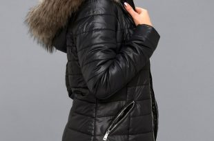 Puffer Coat stay toasty black hooded midi puffer coat QWZLLFW