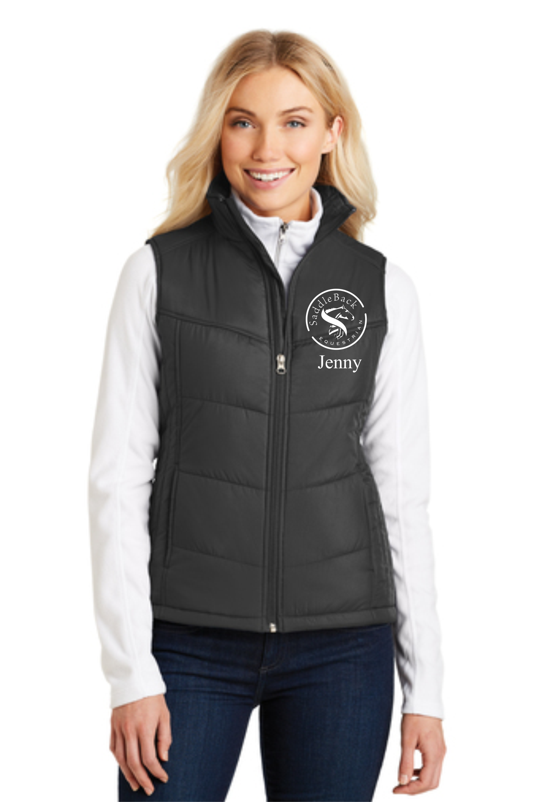 Puffy Vest home/saddleback equestrian/saddleback equestrian ladies puffy vest. ;  OGIMVXR