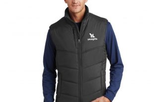 Puffy Vest larger photo email a friend WHGNEVK