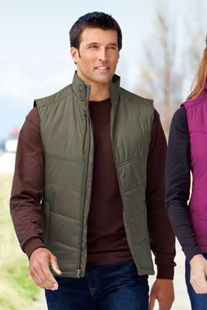 Puffy Vest port authority - puffy vest. j709 UBXMSEZ