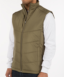 Puffy Vest port authority puffy vest - other view: 1 LWZAXWW
