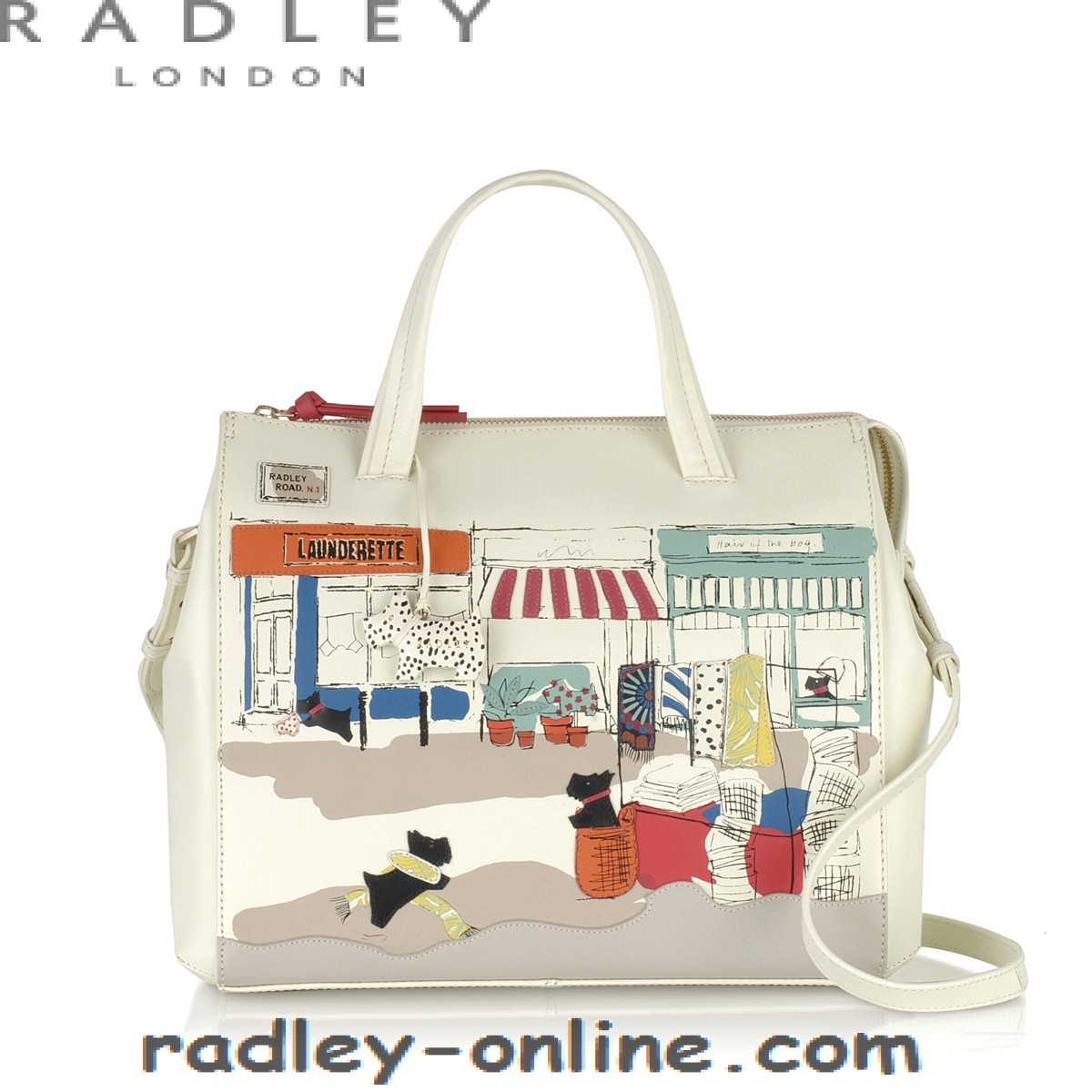 Radley Bag ... 2017 hot sell radley road large ziptop grab bag with high qulity - 2017 DZVYTBA