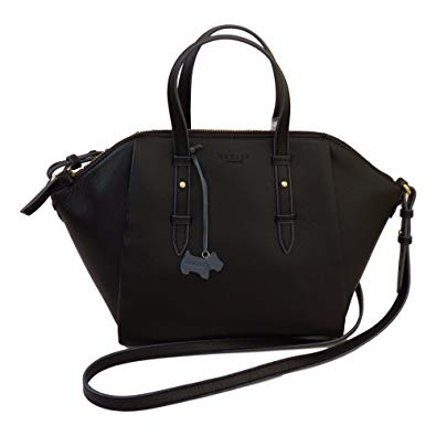 Radley Bag radley u0027waltham abbeyu0027 black leather medium multiway bag - rrp £189 KPWPTGN