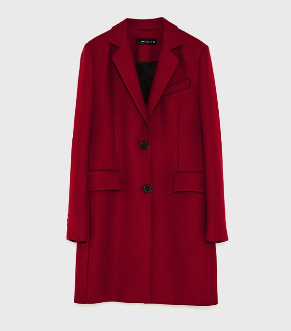 red coat best red coats: zara HLJLDKR