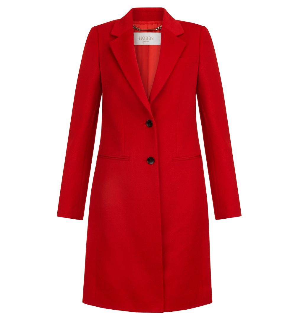 red coat image 1 of tilda coat ASHQLQB