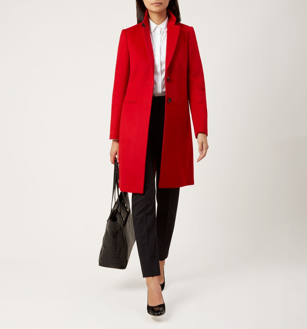 red coat tilda coat XBXHDOP