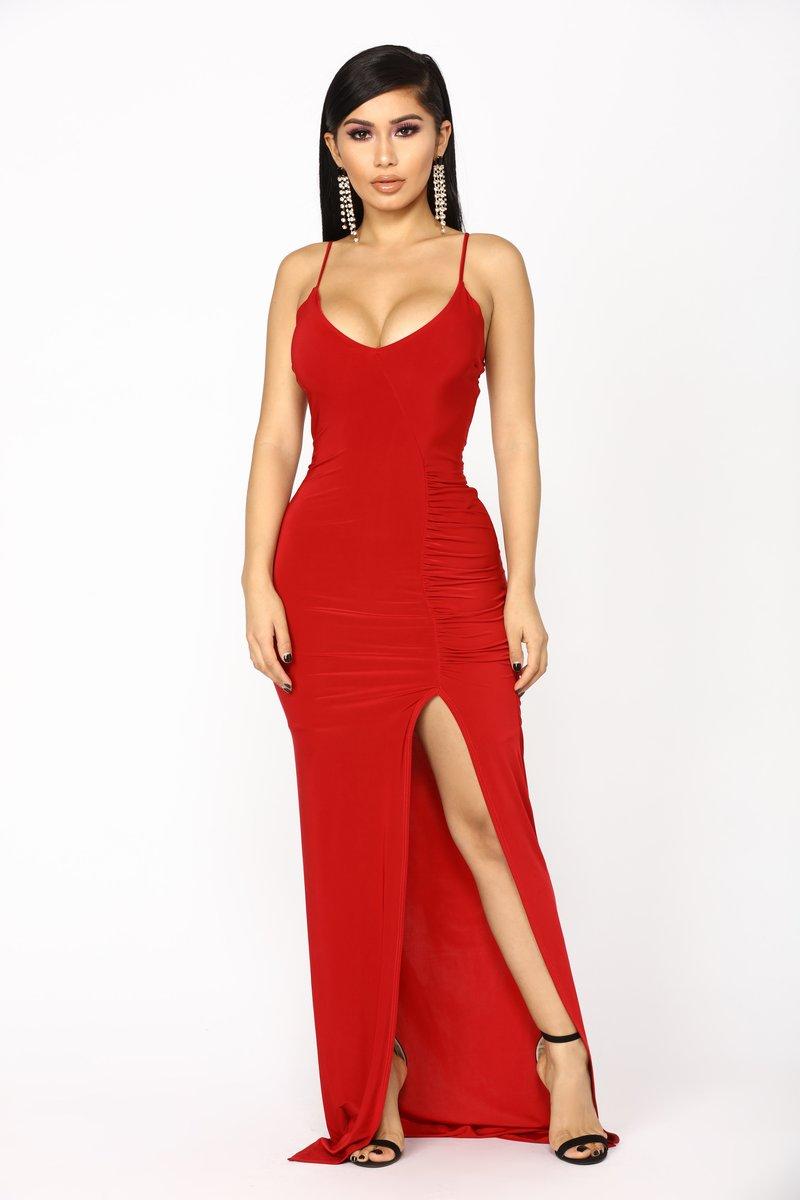 Red Dress love sex money dress - red RKOFGVL