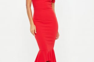 Red Dress red dresses - maroon u0026 wine colored dresses | missguided XHXYFWW