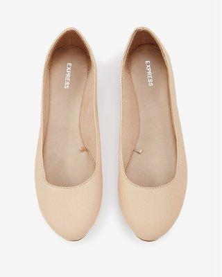 rounded toe flats WCXLAZN