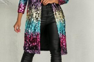Sequin Cardigan latiste sequin cardigan - front cropped image WYWXUSA