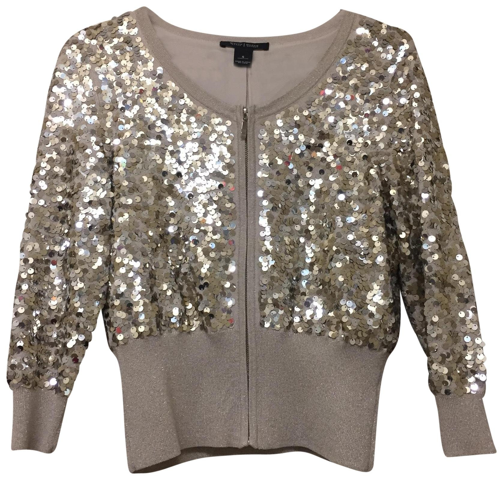 Sequin Cardigan white house | black market cardigan ... XNBZQQK
