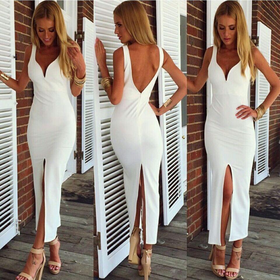 Sexy White Dresses gaocha sexy white dress ZWVSHIV