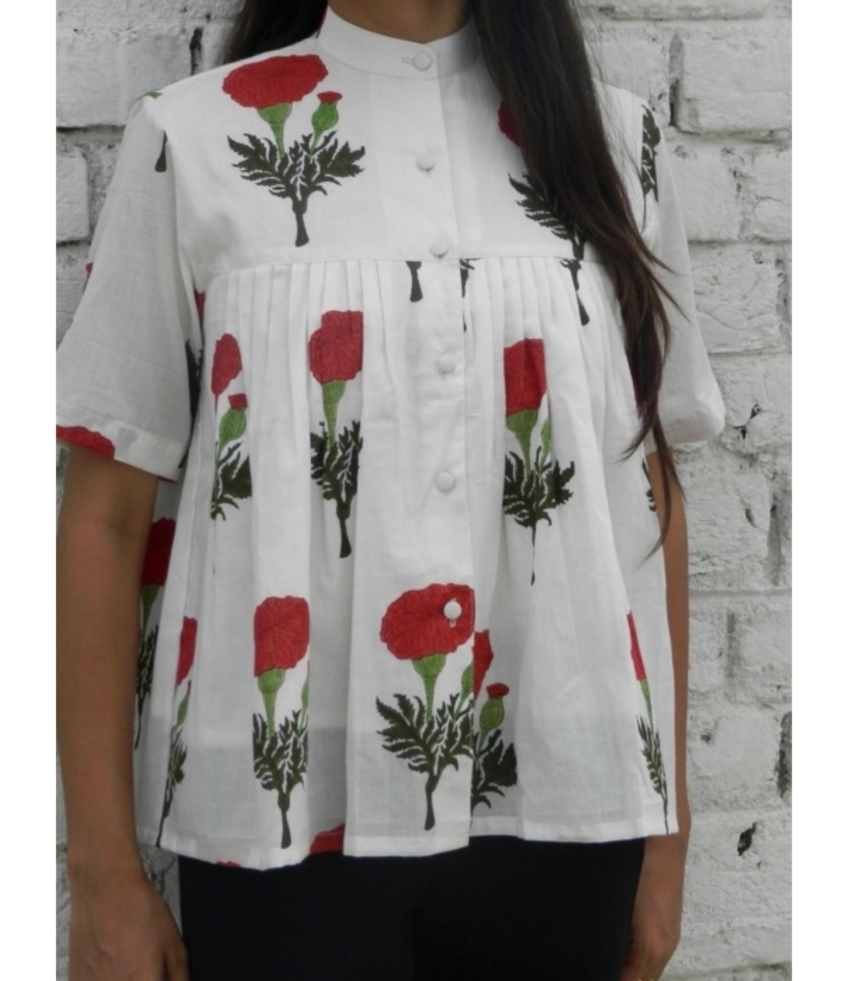 shirts for women designer red mogra shirt for women u0026 girls FLBKALX