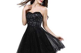 Short Black Prom Dresses short black prom dress XAVSWYC
