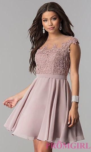 Short Prom Dress loved! EOPFLLM