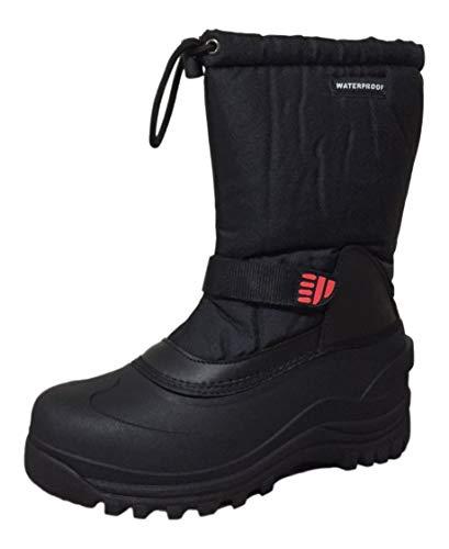 snow boots climate x mens ysc5 snow boot,black,6 TWFUZVI