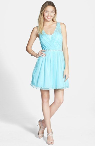 Speechless Dresses speechless beaded tulle party dress (juniors) available at #nordstrom SWUVHNR