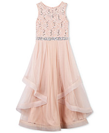 Speechless Dresses speechless sequin lace maxi dress, big girls OYBCTKX