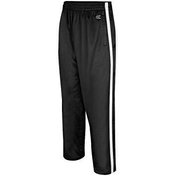 sport pants amazon.com: mens tearaway athletic pants (black/white): sports u0026 outdoors FSERHLA