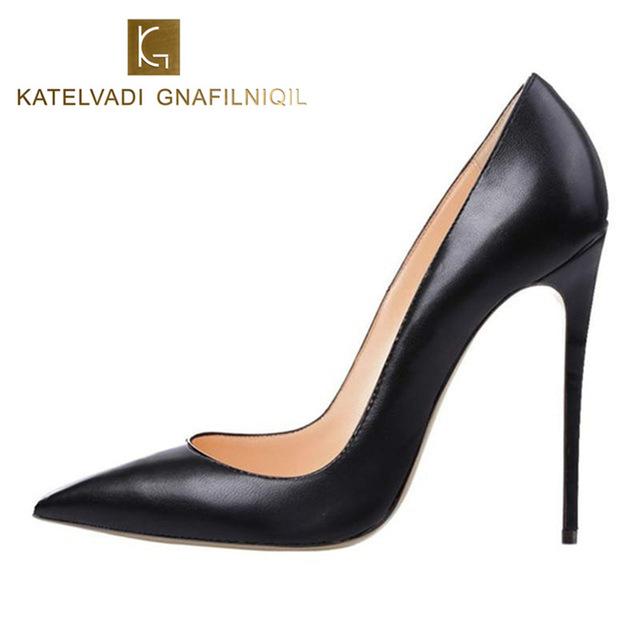 Stilettos shoes brand shoes woman high heels women shoes pumps stilettos shoes for women  black high NZAGOUP