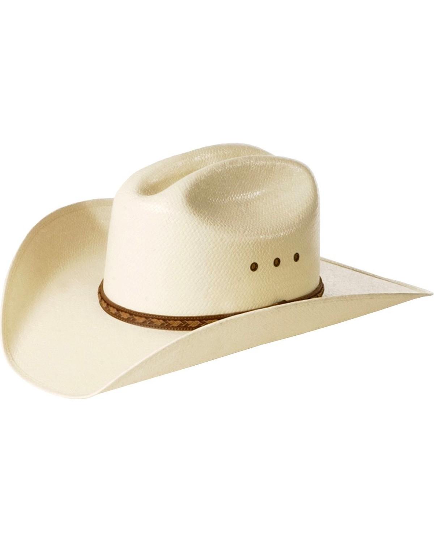straw cowboy hats justin morgan straw cowboy hat, natural, hi-res GUJIDMK