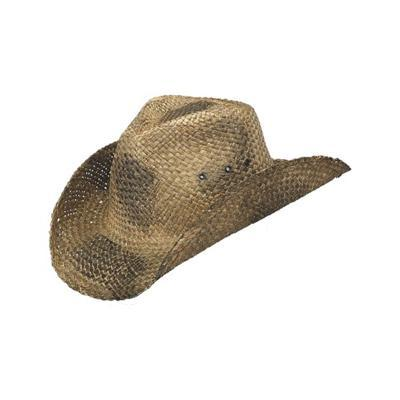 straw cowboy hats peter grimm - maverick black straw cowboy hat LWGVCTZ