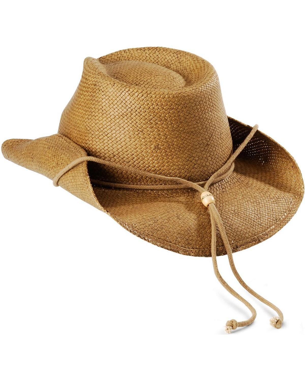 straw cowboy hats pinchfront straw cowboy hat, tobacco, hi-res QSWHAYG