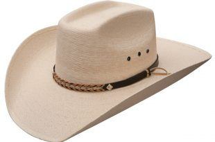 straw cowboy hats stetson square - mexican palm straw cowboy hat SDGQNRQ