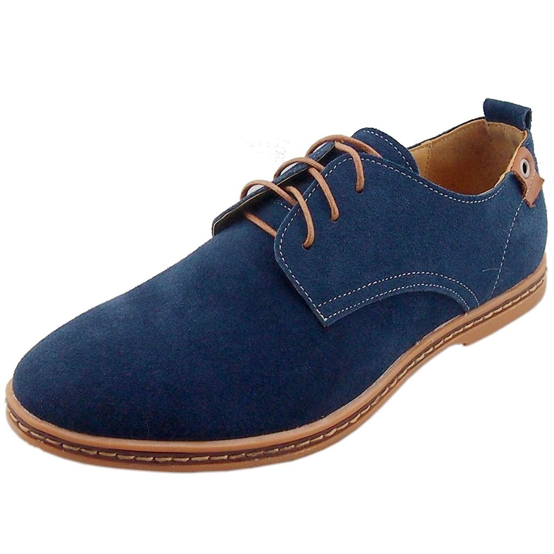 Suede Shoes amazon.com | dadawen menu0027s leather oxford shoe | oxfords QNOTCJR