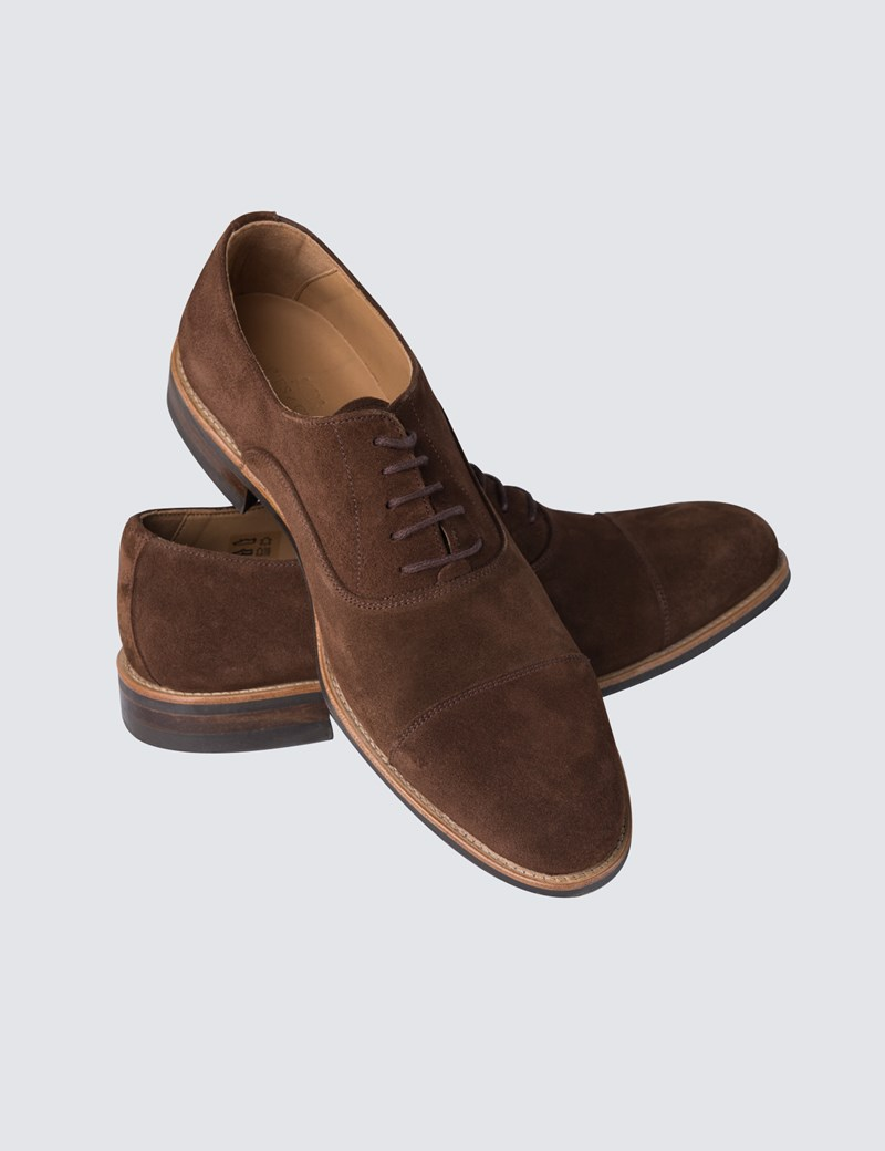 Suede Shoes menu0027s brown suede shoes DLGKPXR