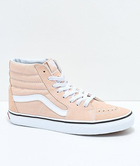 Suede Shoes vans sk8-hi frappe u0026 true white suede shoes ... EXCLVJL