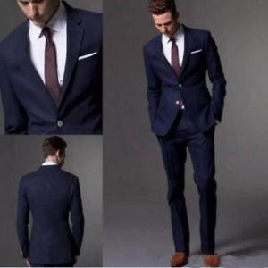 Suits for men image is loading navy-blue-men-suit-2018-fashion-groom-suit- XMSQUCX