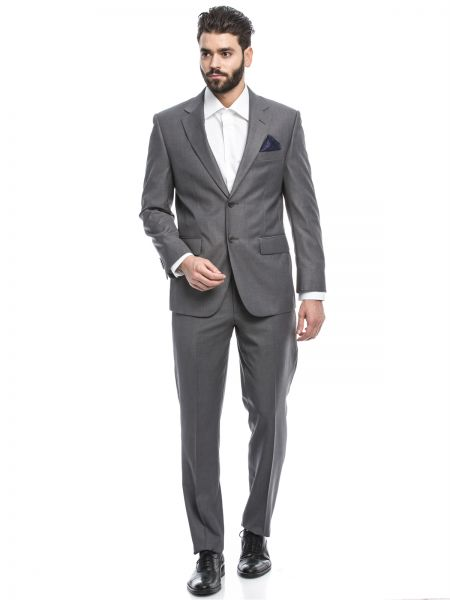 Suits for men louis feraud grey formal dress suit for men LULBYWD