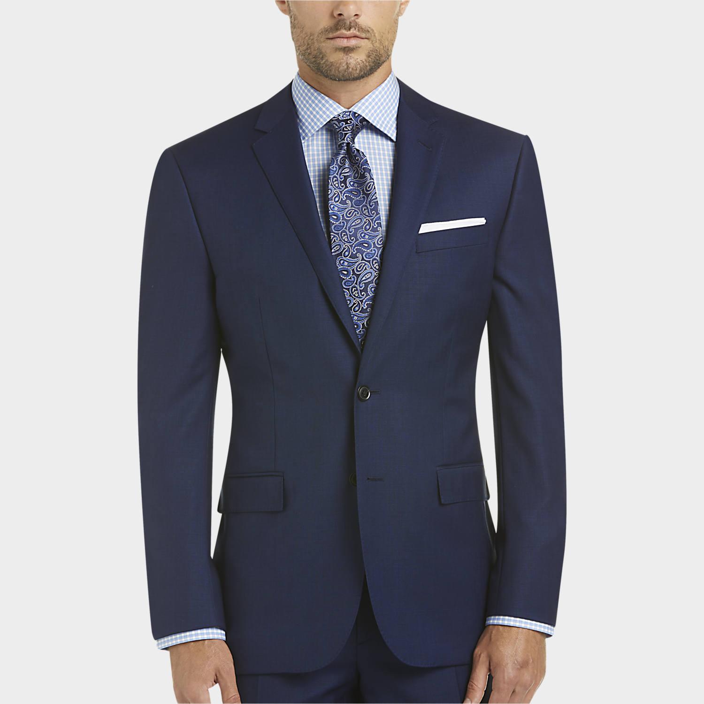 Suits for men mens slim fit, suits - joe joseph abboud blue slim fit survival suit - menu0027s LGMJDVL