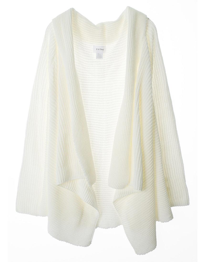 sweater cardigan cozy chunky knit open drape-front cardigan sweater - annakastle.com MUERYHK