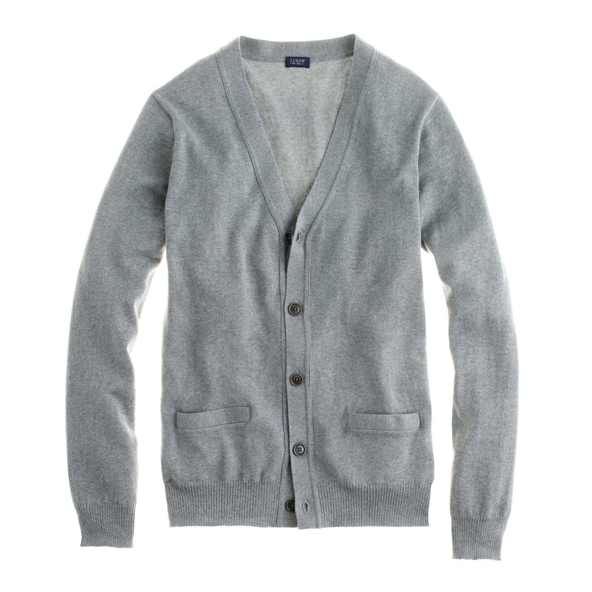 sweater cardigan menu0027s cotton-cashmere cardigan sweater - menu0027s sweaters ZIYTEHQ
