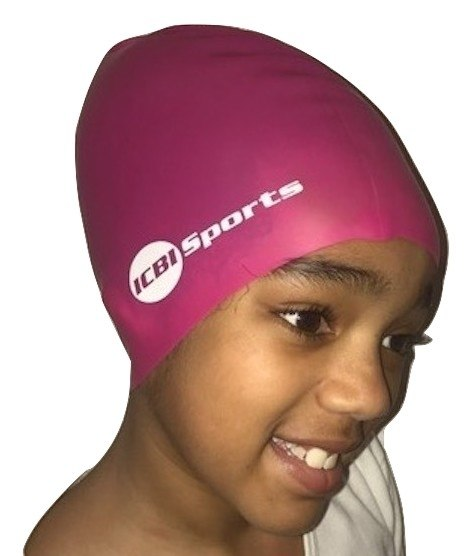 Swimming hats kids childrenu0027s swimming cap hat for extra large long hair braids dreadlocks RBZPRKE