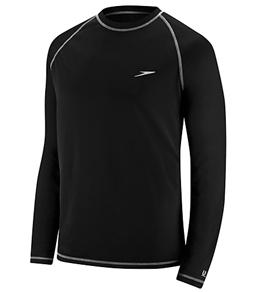 swims shirts speedo menu0027s easy long sleeve swim shirt OFHISEL