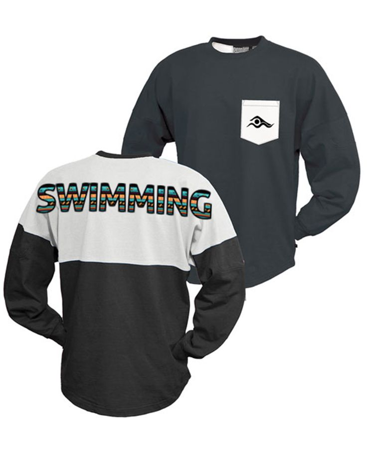swims shirts tribal edition two-toned swim jersey- black/white | swimwithissues SLYTHWZ