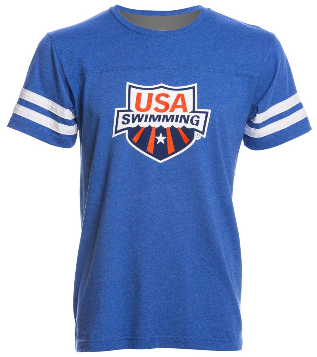 swims shirts usa swimming unisex swimmer jersey t-shirt BZWMHVD