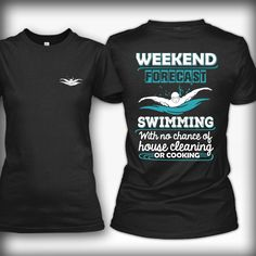 swims shirts weekend forecast: swimming ASWTLQY