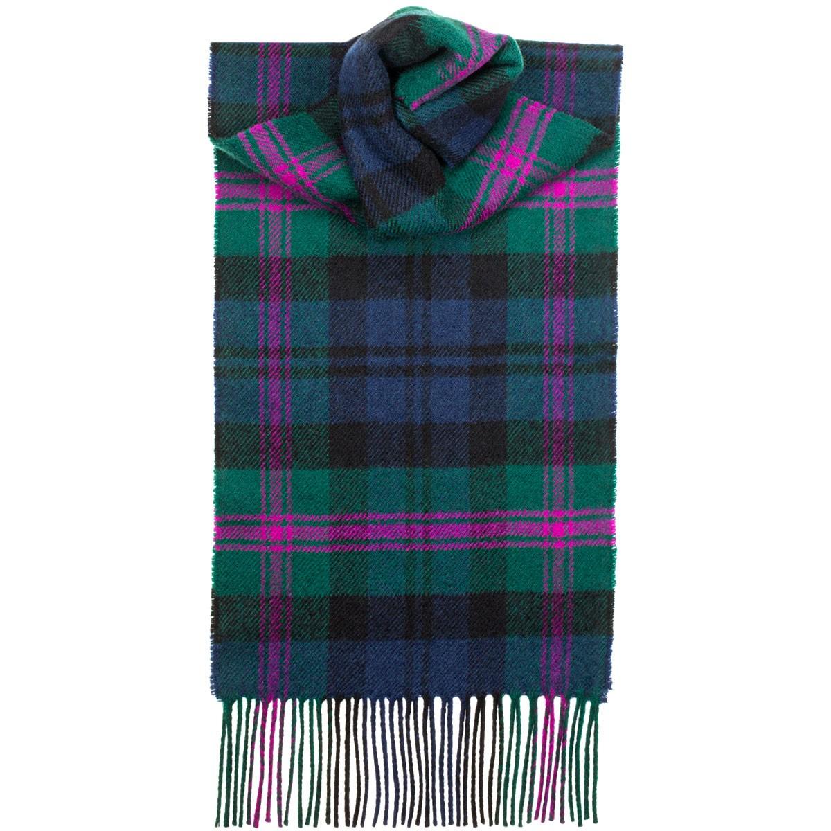 Tartan Scarves baird modern tartan lambswool scarf IAZPEBE