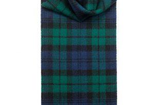 Tartan Scarves black watch modern tartan lambswool scarf | lochcarron of scotland IROMHYI
