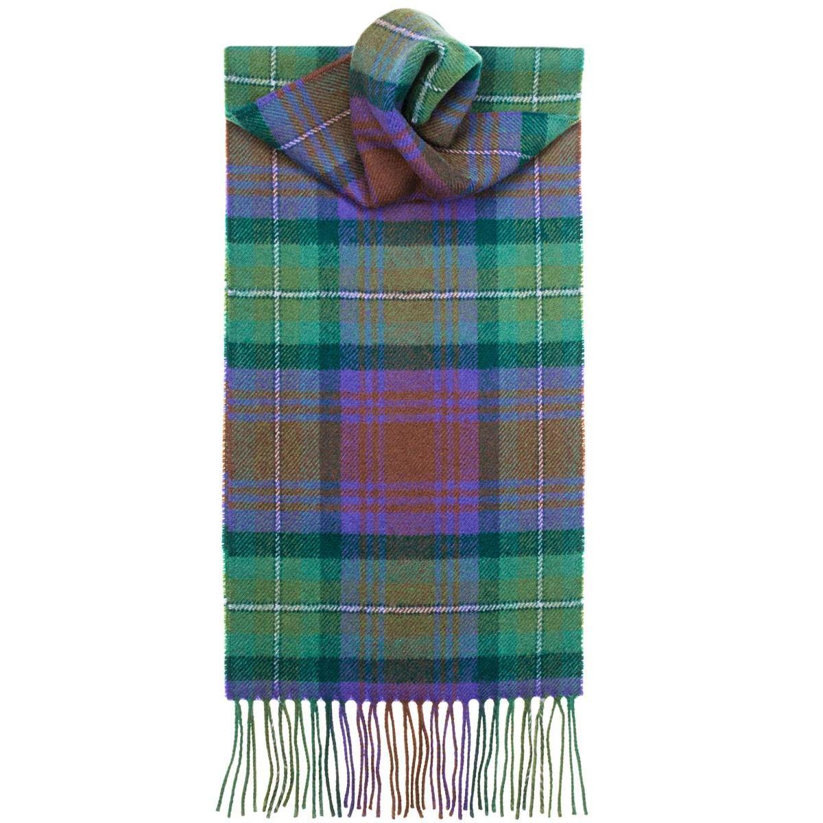 Tartan Scarves isle of skye tartan lambswool scarf | lochcarron of scotland YBJDXKU