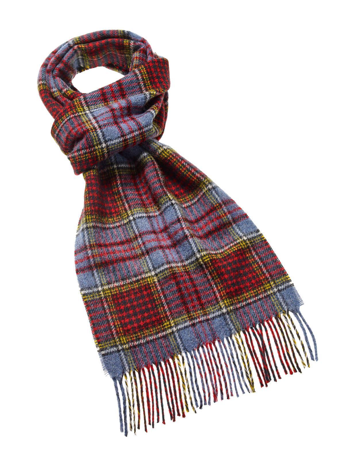 Tartan Scarves luxury-warm-lambswool-tartan-scarves-highland-tweeds-scarf- KBGDLHG