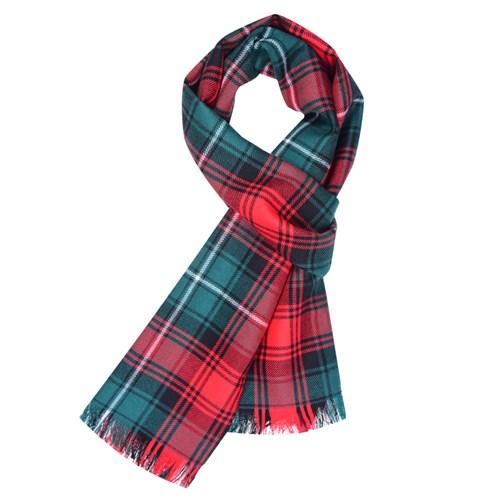 Tartan Scarves woven tartan scarf in duns pipe band DWLPHYE