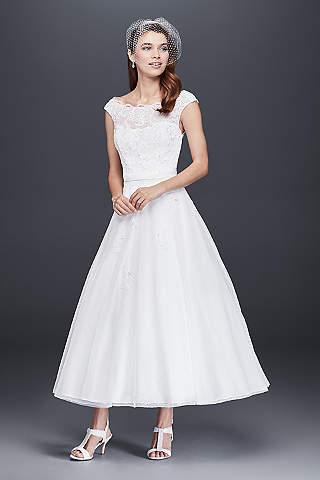tea length wedding dresses MNKFLVQ