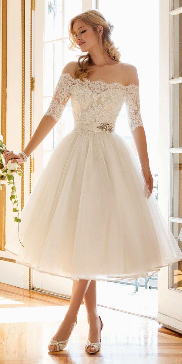 tea length wedding dresses tea length wedding gowns 1 visit: ... XSWPZFZ